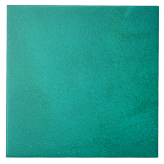 Cerceta Textured Azulejo Quadrado Grande