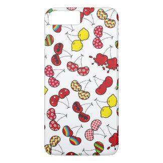 Cereja vermelha insolente engraçada cómica das capa iPhone 7 plus