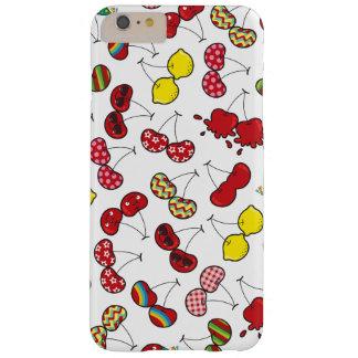 Cereja vermelha insolente engraçada cómica das capas iPhone 6 plus barely there