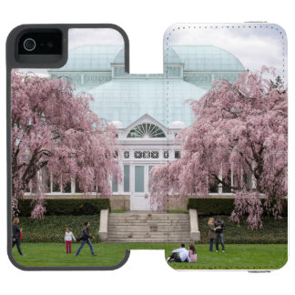 Cereja Weeping de NYBG Capa Carteira Incipio Watson™ Para iPhone 5