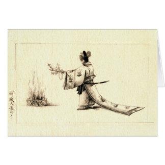 Cerimónia 1878 cartão comemorativo