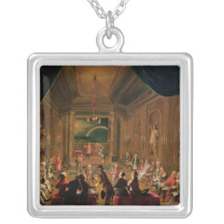 Cerimónia da iniciação em um maçónico vienense bijuterias