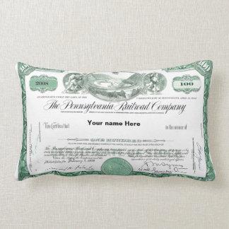 Certificado conservado em estoque da estrada de almofada lombar