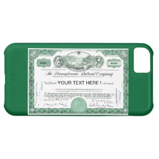Certificado conservado em estoque da estrada de capa para iPhone 5C