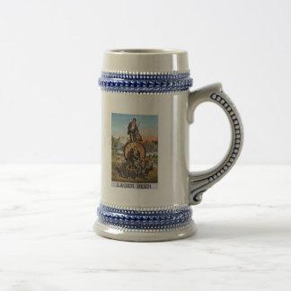 Cerveja de cerveja pilsen de Pfaff - 1800s do Caneca De Cerveja