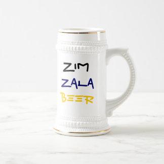 Cerveja de Zim Zala! Caneca De Cerveja