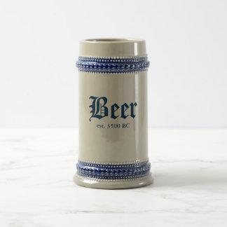 Cerveja, est. 3500 BC Caneca De Cerveja