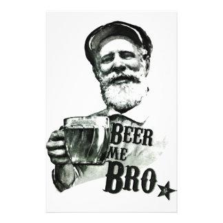 Cerveja mim Bro Flyer 13.97 X 21.59cm