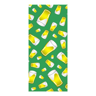 Cerveja verde 10.16 x 22.86cm panfleto