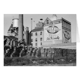 Cervejaria de Minneapolis, os anos 30 Cartão