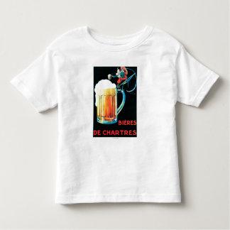 Cervejas do poster do promocional de Chartres Tshirt