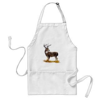 Cervos que estão apenas em produtos customizáveis avental