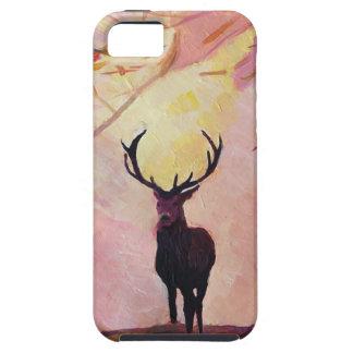 Cervos que vêm do glade capa tough para iPhone 5