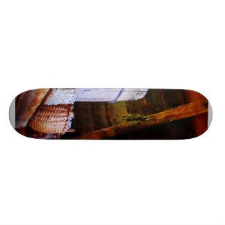 Cestas e tambores no sótão shape de skate 19,7cm