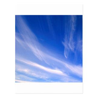 Céu eterno do céu cartão postal