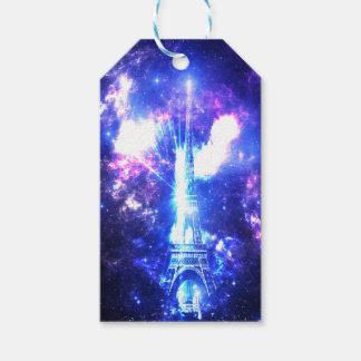Céu parisiense iridescente