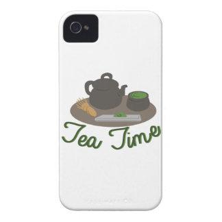 Chá japonês da cerimónia de chá capa para iPhone 4 Case-Mate
