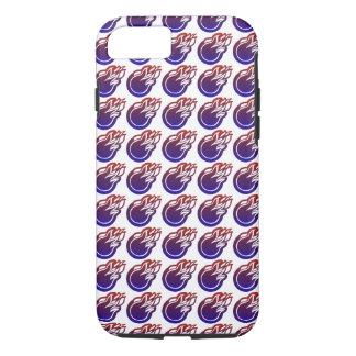 Chama azul capa iPhone 7