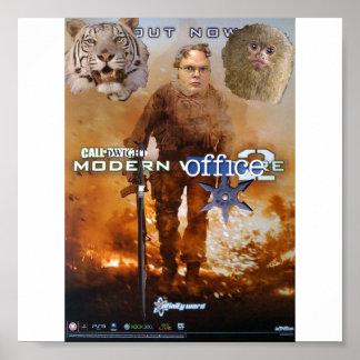 chamada do escritório moderno 2 de dwight poster