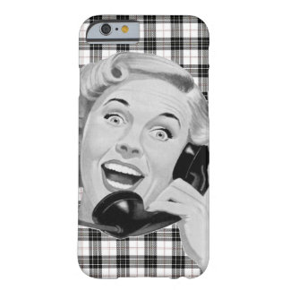 Chamador retro capa barely there para iPhone 6