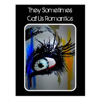 """""""Chamam-nos às vezes cartão de Romantics"""""""