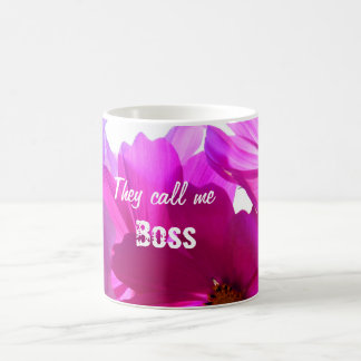 Chame-me caneca do chefe para personalizar