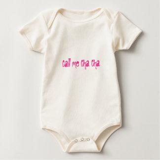 Chame-me Cha Cha Macacãozinho Para Bebês