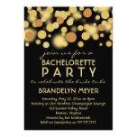 Champagne borbulha convites da festa de solteira convite 12.7 x 17.78cm