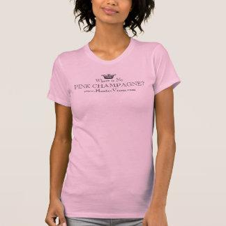 CHAMPANHE COR-DE-ROSA www.haute-vixen.com Camiseta