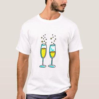 champanhe t-shirts