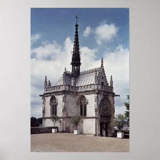 Chapelle Santo-Hubert do castelo Amboise Impressão
