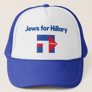 Chapéu 2016 do presidente do hebraico de Hillary Boné