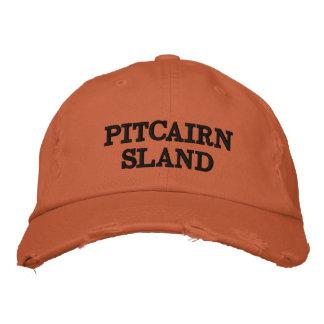 Chapéu afligido laranja da Ilha Pitcairn Boné Bordado