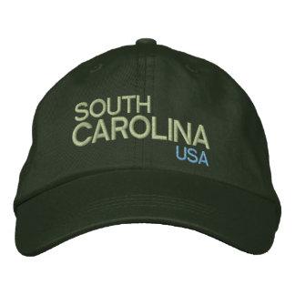 Chapéu ajustável de South Carolina * EUA Boné Bordado