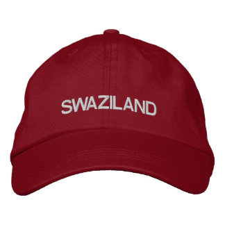 Chapéu ajustável de Suazilândia Boné Bordado