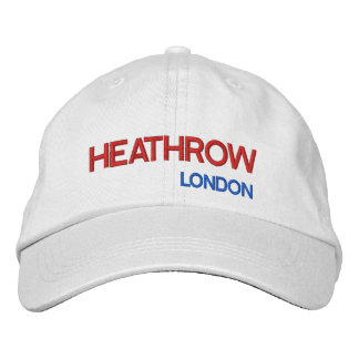 Chapéu ajustável do aeroporto de Londres Heathrow Boné Bordado