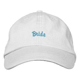 Chapéu ajustável personalizado da noiva boné bordado