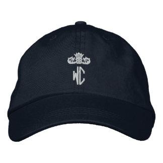 Chapéu ajustável personalizado logotipo do WC de Boné Bordado