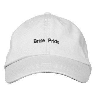 Chapéu ajustável personalizado orgulho da noiva boné bordado