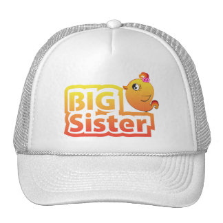 Chapéu bonito do pássaro da galinha da irmã mais boné