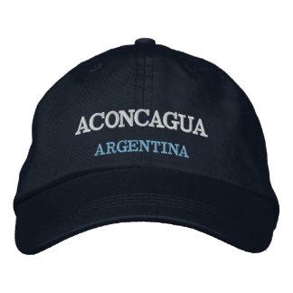 Chapéu bordado Argentina de Aconcagua da montagem Boné Bordado