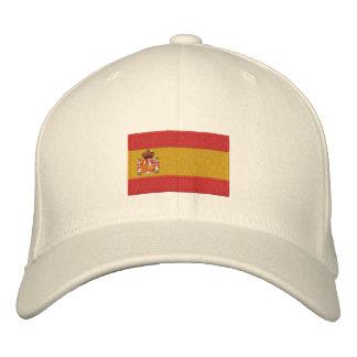 Chapéu bordado bandeira de lãs do flexfit da espan boné