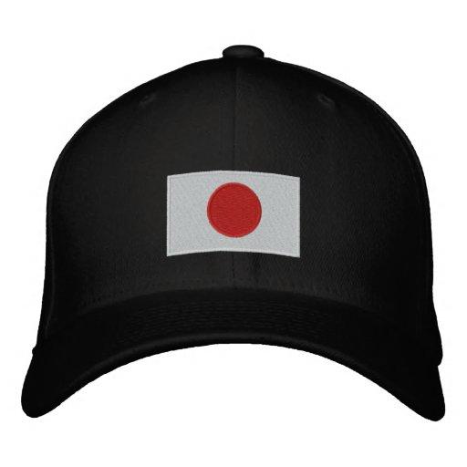 Chapéu bordado bandeira de lãs do flexfit de Japão Bonés