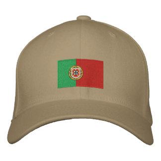 Chapéu bordado bandeira de lãs do flexfit de Portu Bonés Bordados