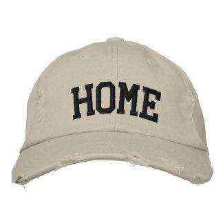 Chapéu bordado casa