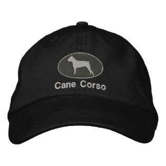 Chapéu bordado Corso do bastão escuro Boné