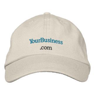 Chapéu bordado costume do uniforme do Web site da  Boné Bordado
