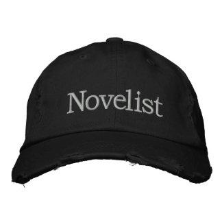 Chapéu bordado escritor para escritores novos boné bordado