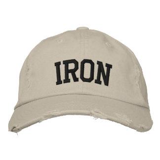 Chapéu bordado ferro boné bordado