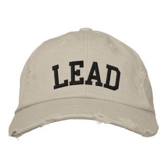 Chapéu bordado ligação